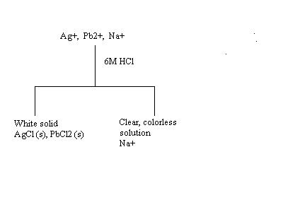 Chemical analysis can be divided according to quantitative analysis in the flow chart you want to record procedures results and observations the flow chart for step 1 is done for you ccuart Image collections
